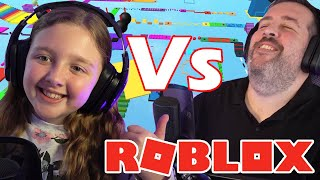Roblox Parkour OBBY Grudge Match   Fun Family Gaming