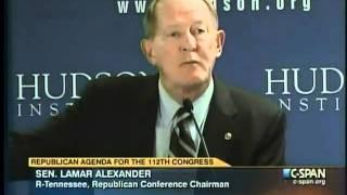 Alexander Delivers Keynote at the Hudson Institute on Dec. 3, 2010