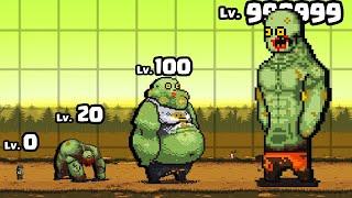 MUTATING a MAX LEVEL ZOMBIE BOSS in Dead Ahead: Zombie Warfare #3