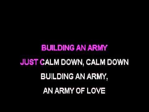 Karaoke - Army Of Love (in style of Kerli)