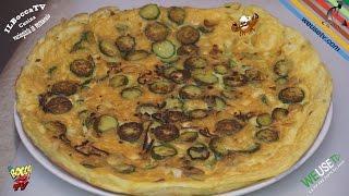 294 - Frittata di zucchine e scalogno...è da un pò che me la sogno! (ricetta veg facile e veloce)
