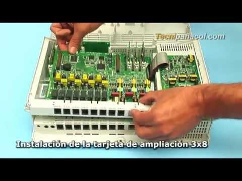 ✅ Planta telefónica Panasonic KX-TES824