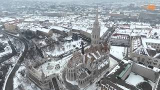 Téli Budapest / Hungarian Capital Looks Amazing All Covered In Snow [VIDEO]