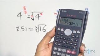Calcular potencias utilizando una calculadora científica - parte 2 thumbnail