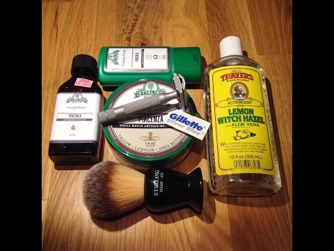 Stirling Soap Co. Piacenza - Rockwell 6S - Thayers Lemon Witch Hazel