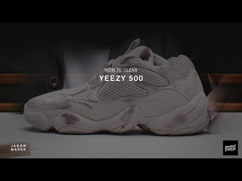 SNEAKER CARE 101: HOW-TO CLEAN YEEZY 500