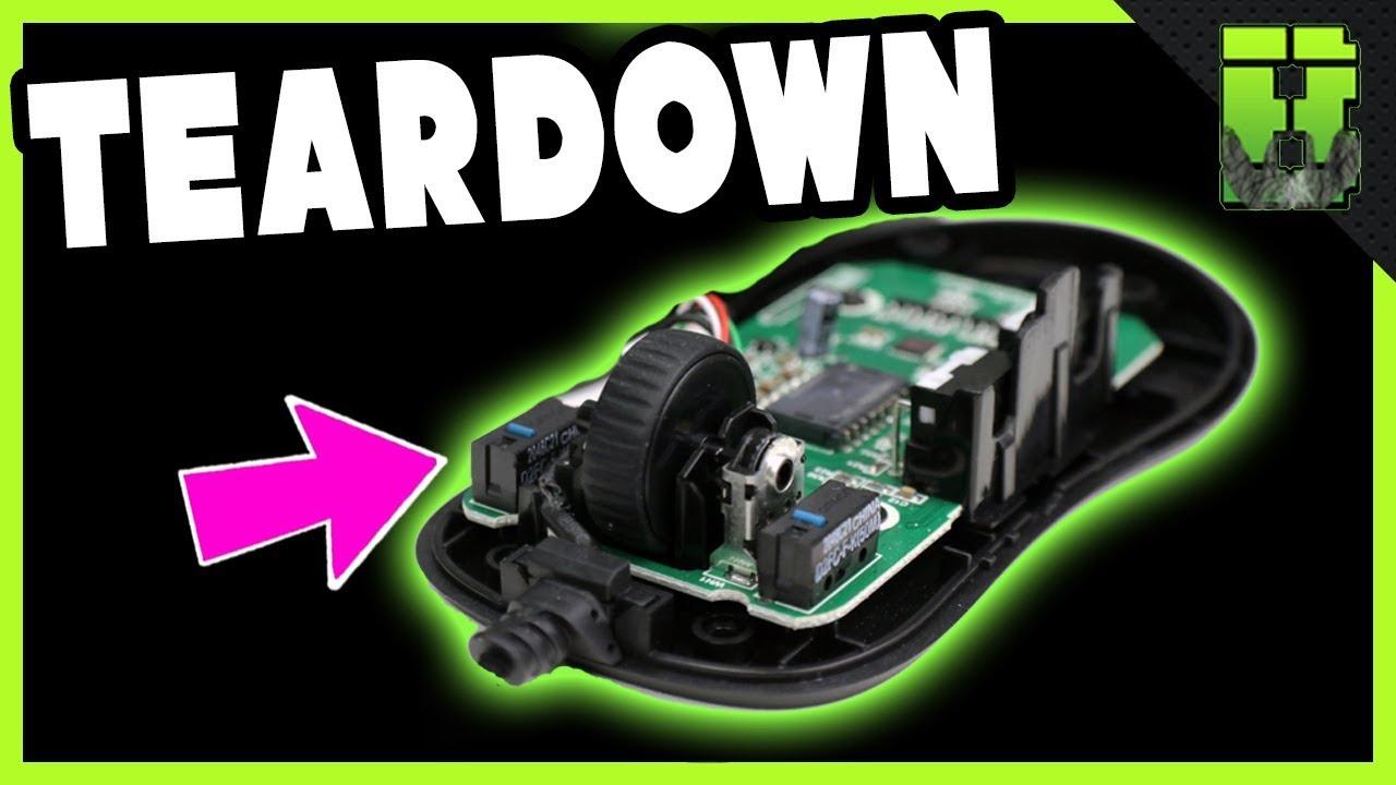 Endgame Gear Xm1 Teardown Gaming Mouse