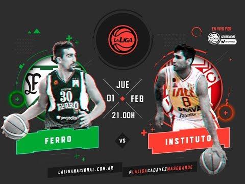 Liga Nacional: Ferro vs. Instituto | #LaLigaEnTyCSports