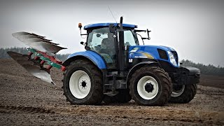 Siew owsa 2016 - New Holland T7.185 / T6050 / T5060