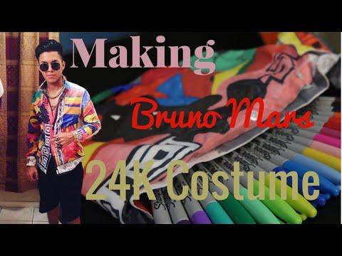 Bruno Mars 24K Halloween Costume