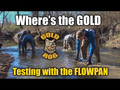 Gold Prospecting and Gold Panning with the New FlowPan