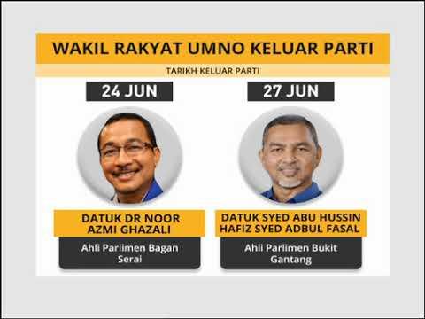 Wakil rakyat UMNO keluar parti