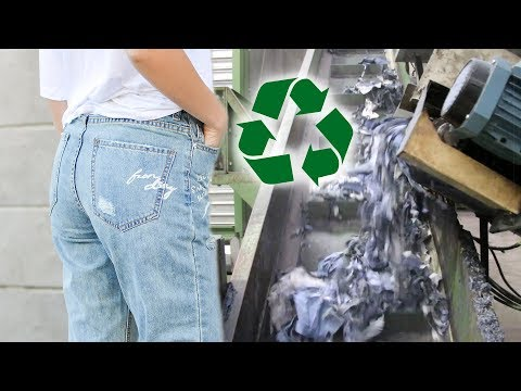 How Old Clothes Can Become New Clothes | Textile Recycling ♻️