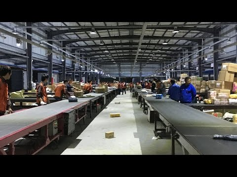 Sorting Belt Conveyor for Distribution Center of Courier,Post Company