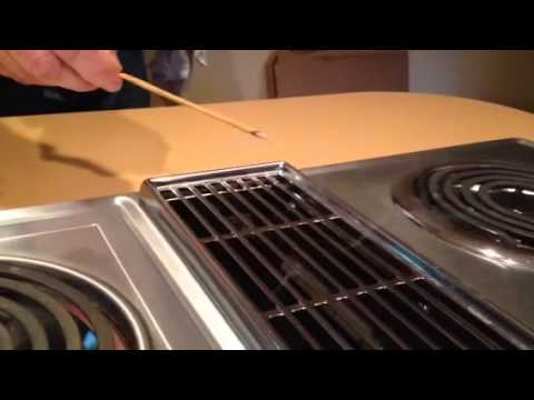 jenn air electric range with griddle stove manual repair downward exhaust