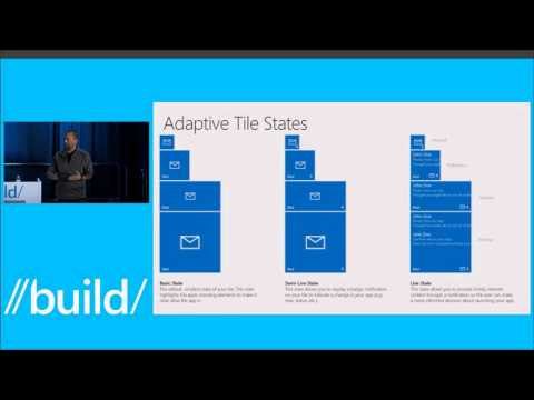 Build 2015 Tiles, Notifications, and Action Center