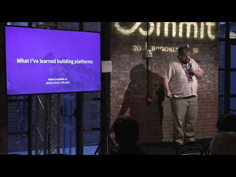 Commit Brooklyn 2019: DevOps Spelunking: the value of GitLab and Platforms