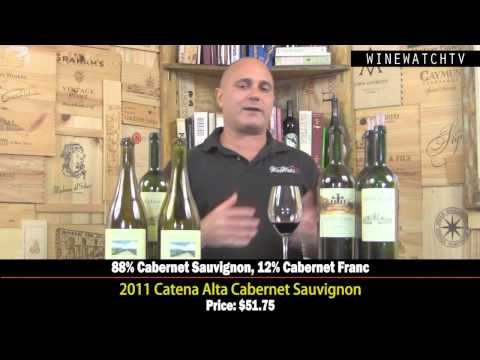 What I Drank Yesterday  Nicolas Catena Zapata - click image for video