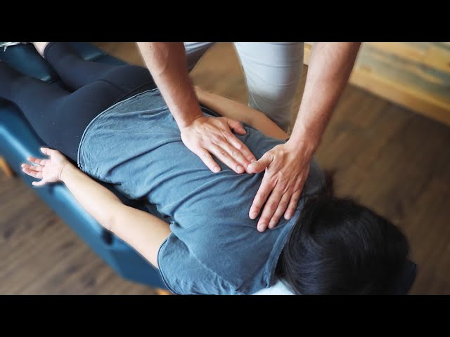 MINOR SCOLIOSIS & YEARS Of BACK PAIN Fixed From Chiropractic Adjustment
