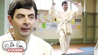 JUDO Bean ကို Mr Bean သည်ရယ်စရာကောင်းသော ဂန္ထဝင် Mr Bean