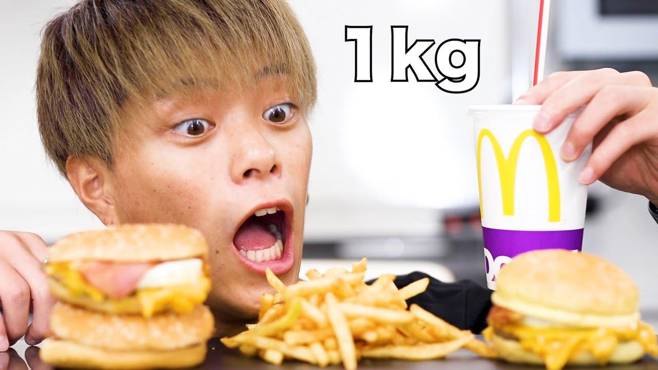 【大食い】月見バーガー全種類が美味しすぎるのよ。。【モッパン】【マック】