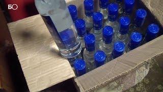 Ликвидирован цех по производству фальсифицированной алкогольной продукции в Казани