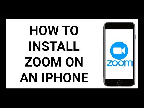 How To Install Zoom On An iPhone