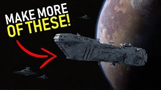 The Capital Ship that could've SAVED THE EMPIRE | Star Wars Lore
