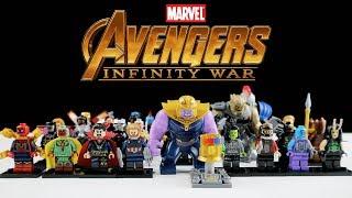 Semua Lego Avengers Infinity War - Mainan Lego Mnifigures Marvel Bootleg