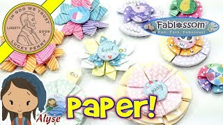 Learn How The Fablossom DIY Paper Flowers Kit Works