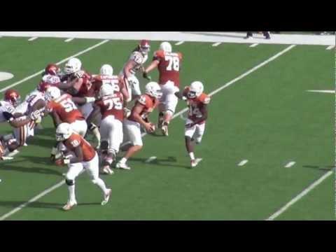 Iowa State-Texas 2012: Johnathan Gray 13 Yard Touchdown