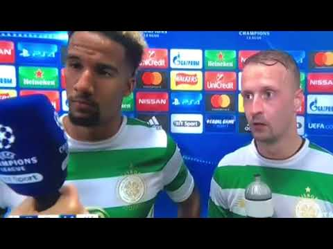 Sinclair and griffiths after 5/0 win against Astana interview