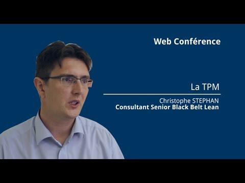 Replay : web-formation sur la démarche TPM (Total Productive Maintenance)