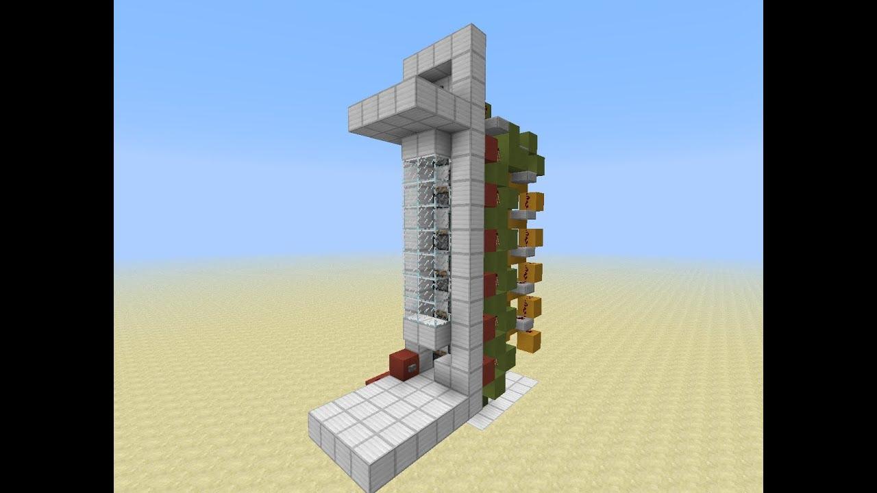 как выглядит лифт в майнкрафте #11