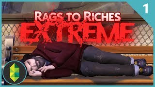 Rags to Riches EXTREME - Part 1 (The Sims 4)