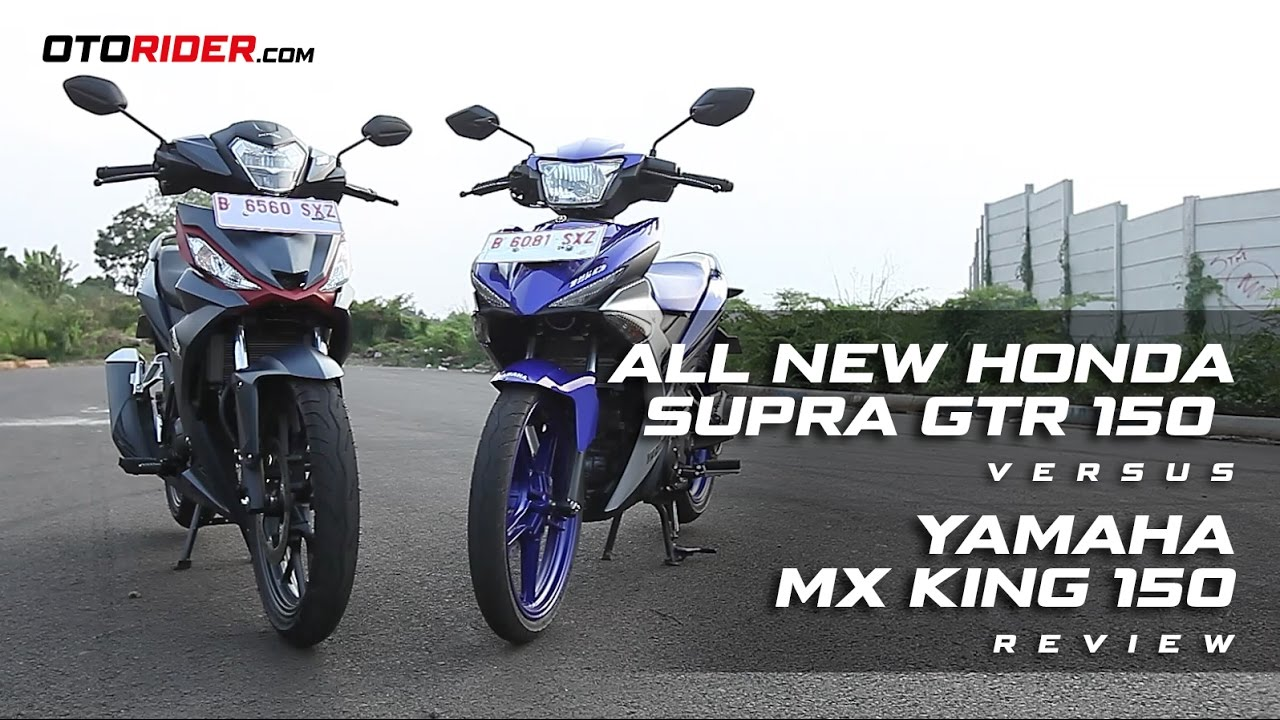All New Honda Supra GTR 150 Vs Yamaha MX King 150 Group Test Review