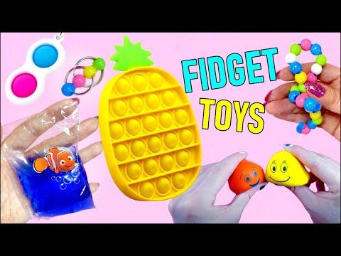 7 DIY Fidget Toys – Viral TikTok Fidget Toys Ideas – Pineapple Pop it Toy and more…