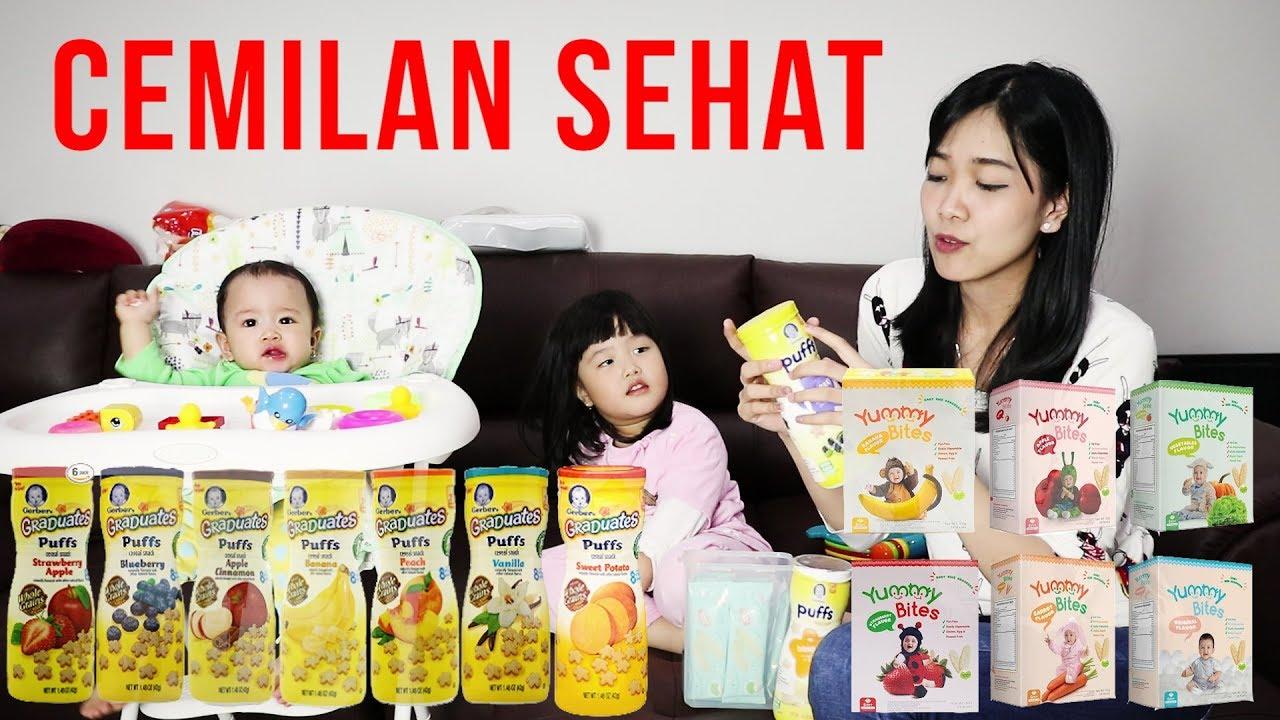 Cemilan Snack Sehat Untuk Bayi Dan Anak Youtube