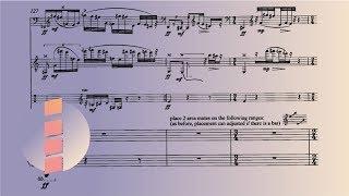 Chaya Czernowin - Sahaf [w/ score]  _Ensemble Nikel_