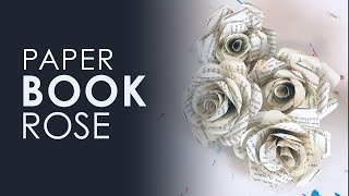 Origami Book Rose | DIY