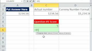 Excel Magic Trick 578: Formula To Grade Student Answer Where More Than One Possibility Exists