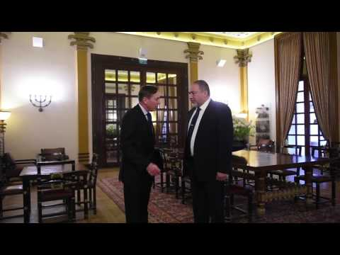Avigdor Liberman meets former US General David Petraeus