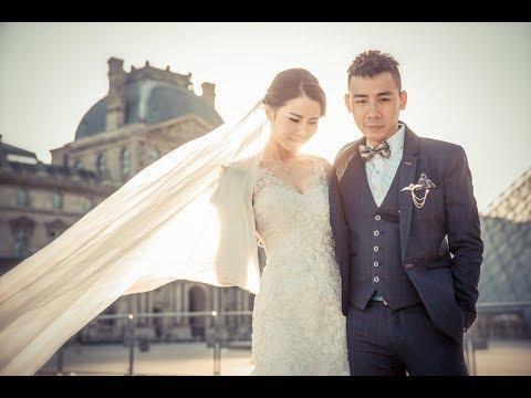 [4K] Wing & Anna Wedding Photo Part.1 (Westlife - Beautiful in White)