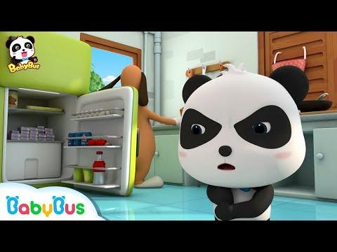 Baby Panda Protects His Moon Cakes | Kids Cartoon | Funny Cartoon | BabyBus