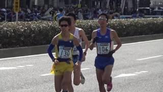 東京マラソン 36km...