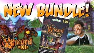 Wizard101: New Spooky Carnival Bundle!