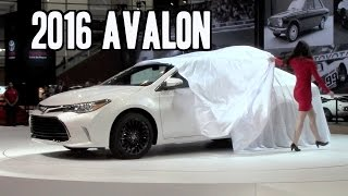 2016 toyota avalon debut camry corolla special edition