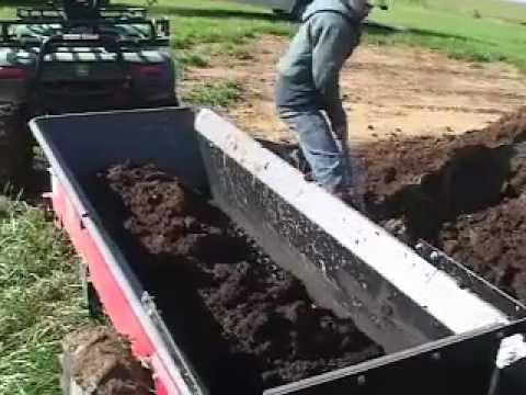 Manure Spreader Calibration - YouTube