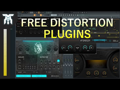 Best FREE Audio Distortion Effect Plugins For Windows & Mac (VST & AU)