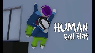 Human Fall Flat - We Race To The Finish Line!!!